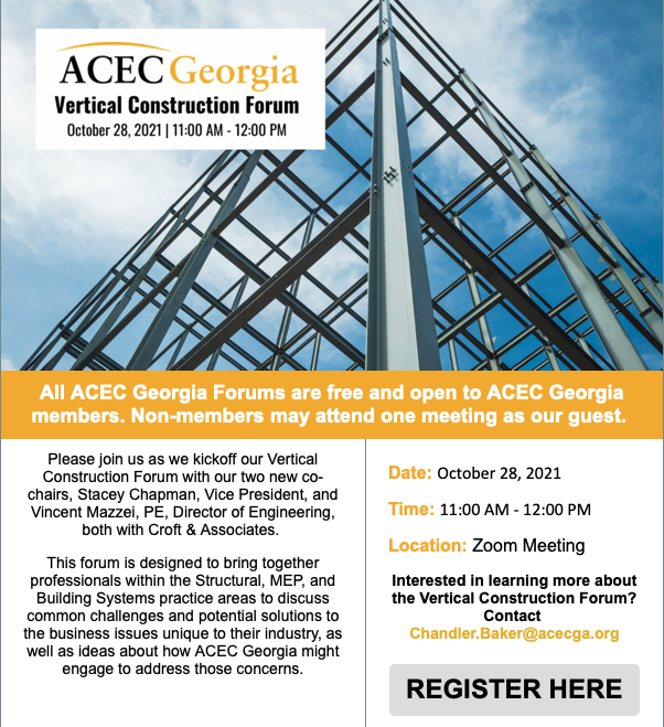 ACEC Georgia: Vertical Construction Forum